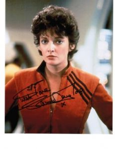 "Sarah Douglas from Superman 1 & 2, Babylon 5, ""V"", Stargate etc"